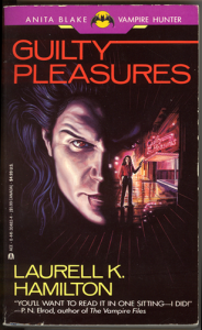Cover to Guilty Pleasures by Laurell K. Hamilton