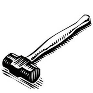 1ac6ee8ac8b1c345 likewise B8bb4fc53b33540d as well Fist as well Explosionszeichnung as well Claw Hammer Coloring Pages 1d3901. on sledge hammer