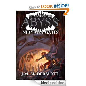 Cover for NIRVANA GATES by J.M. McDermott