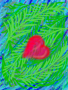 Heart Among the Ferns
