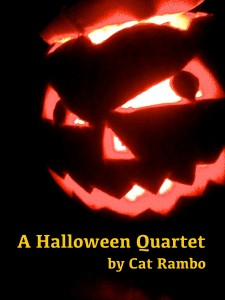 Book cover for Halloween Quartet