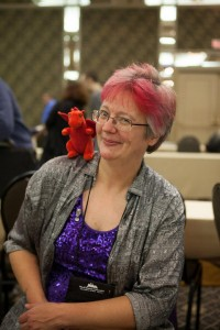 Cat at World Fantasy Convention 2012