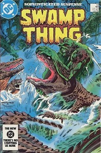 Cover of Pog, issue of the Swamp Thing by Alan Moore