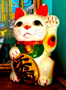 Picture of a Maneki Neko Cat