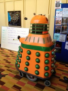 Picture of an iconic sf monster, the Dalek