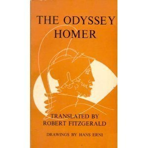 Cover of The Odyssey by Homer. Accompanies review by speculative fiction writer Cat Rambo.