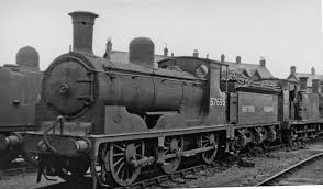 Photo of a Glasgow train engine, accompanying a steampunk short story snippet from speculative fiction writer Cat Rambo.
