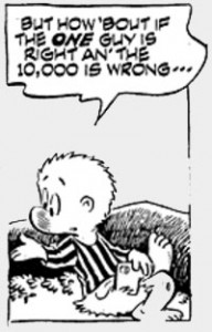 Image of Pogo the Possum, created by Walt Kelly.