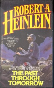 Cover of Robert A. Heinlein's The Past Through Tomorrow