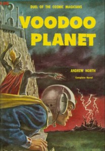 Cover for Voodoo Planet by Andrew North/Andre Norton