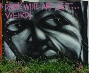 Street art - mural.