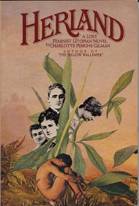 Cover for feminist utopian novel Herland by Charlotte Perkins Gilman.