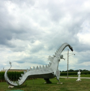 Cahokia dragon