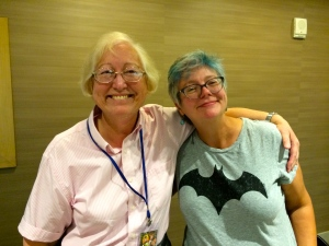 Cat Rambo and Connie Willis