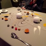 Picture of a course at Alinea