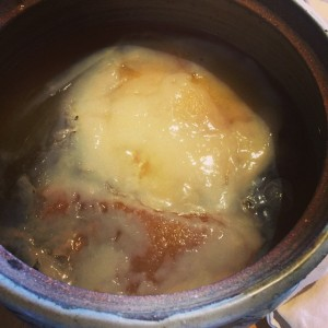 The SCOBY (symbiotic colony of bacteria and yeast) that makes the kombucha.
