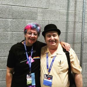 Cat Rambo and Eric Flint