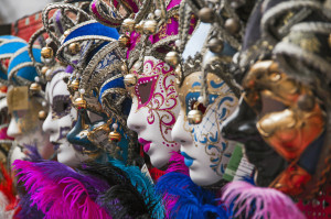 Picture of carnival masks