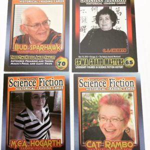Some of the current faces of SFWA.
