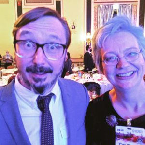 John Hodgman and Cat Rambo