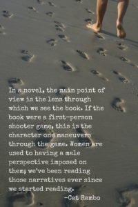 Picture of male footprints in sand.