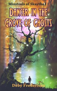 "Cover of ""Dancer in the Grove of Ghosts"""