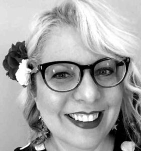 Headshot of Monica Valentinelli from her website.