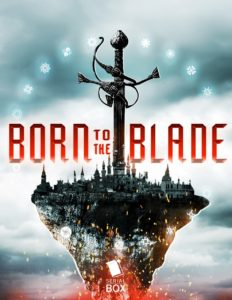 Cover o BORN TO THE BLADE by Underwood.