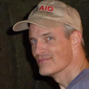 Headshot of Author from Amazon author page.