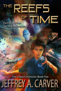 Cover of THE REEFS OF TIME.