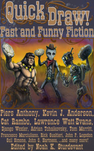 Cover of QUICK DRAW: FAST AND FUNY FICTION